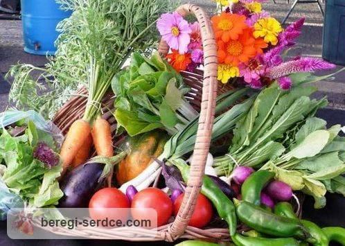Питание для сердца: продукты