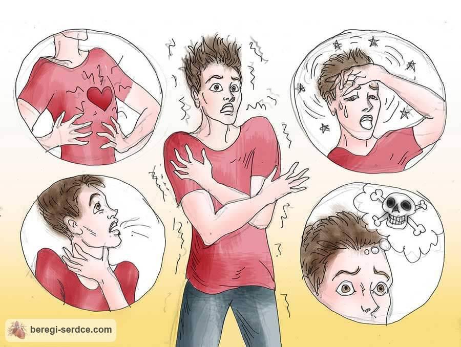 Невроз сердца: симптомы и лечение, последствия. Как проявляется и ...
