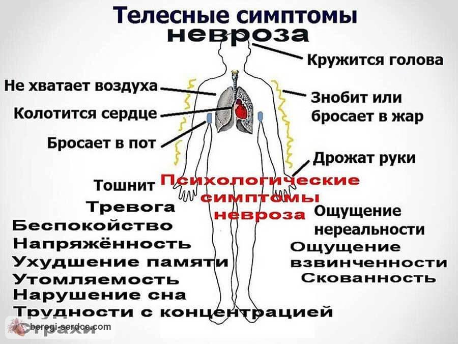 Тревожность учащенное сердцебиение головокружение
