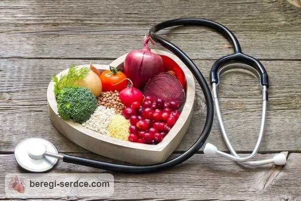 Диета при сердечной недостаточности