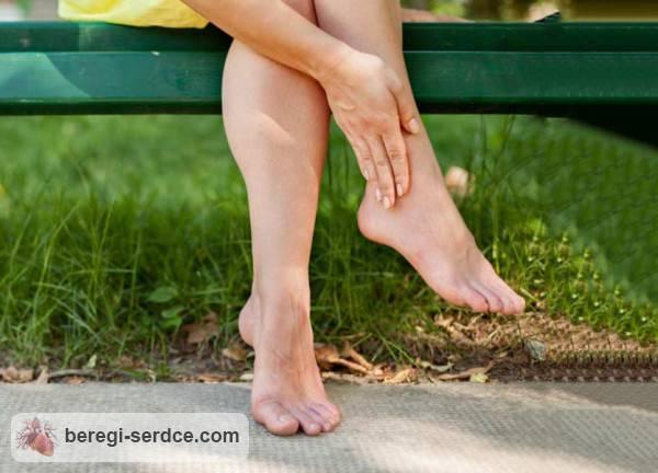 Отек ног при сердечной недостаточности